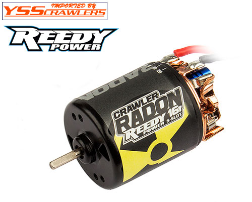 Reedy Radon 2 5slot 16T brushed crawler motor!