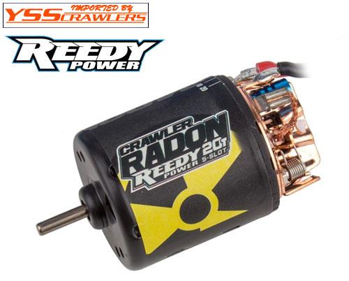 Reedy ラドン2[Radon2] クローラー20T 5スロット ブラシモーター!