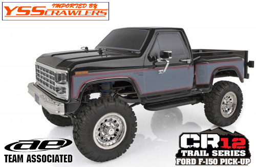 AE CR12 Ford F-150 Pick-Up Ready-to-Run![Black][Reserve]