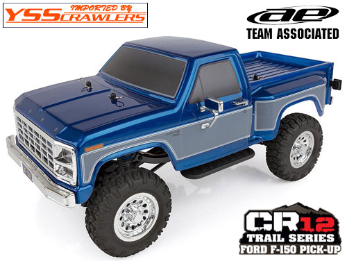 AE CR12 Ford F-150 Pick-Up Ready-to-Run![Blue][Reserve]
