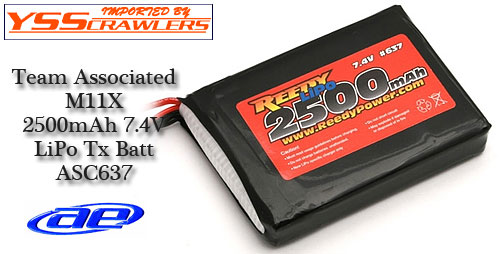 Associated Reedy LiPo 2500mAh 7.4V TX LiPo Battery