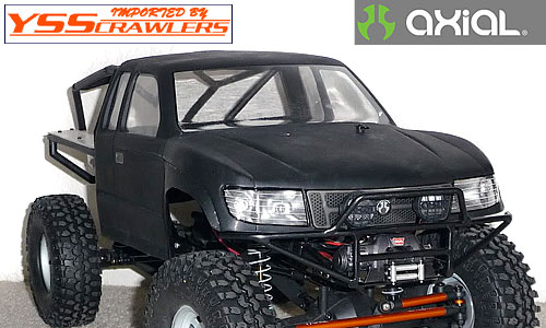 Axial Racing Trail Honcho Truck Body![Clear]