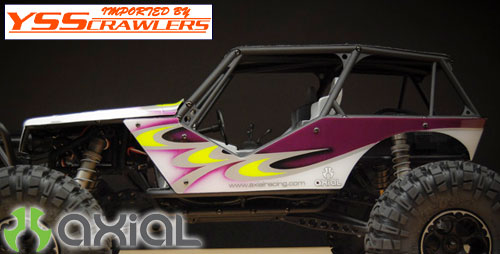 Axial Wraith .040 Body Panel set