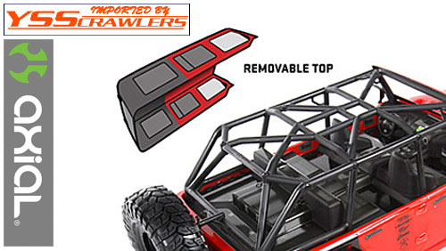 Axial Axial 2012 Jeep Wrangler Rubicon Unlimited Roof [AX04034]