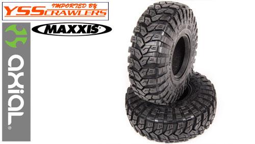 Axial 1.9 Maxxis Treoador タイヤ R35コンパウンド [2本] [AX12019]