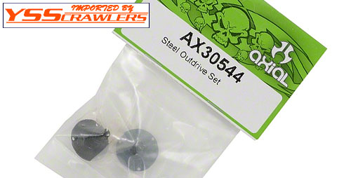 Axial Steel Outdrive Set