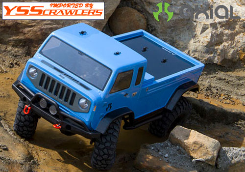 Axial  Jeep Mighty FC Body - .040