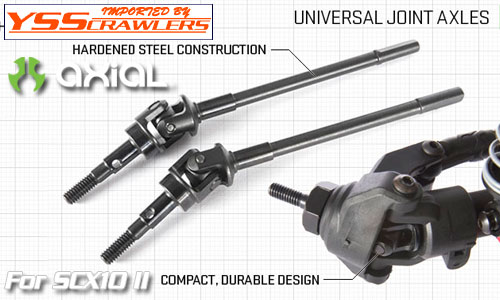 Axial Universal Joints for AR44 Axles![SCX10-II][AX31402]