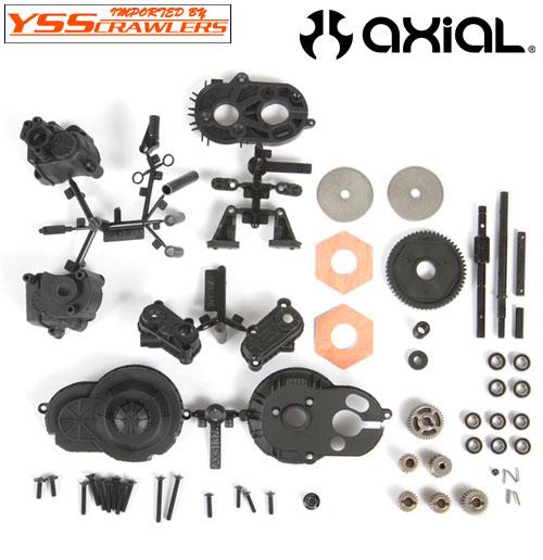 Axial SCX10 トランスミッション セット for SCX10-II![キット版][AX31439]