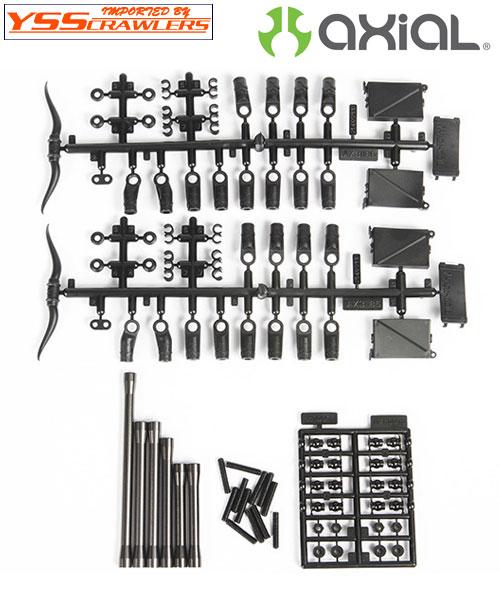 Axial フロントアルミリンクセット for SCX10-II![AX31465]
