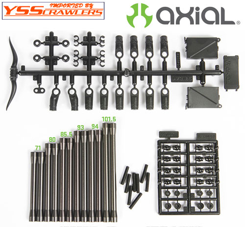 Axial Racing  SCX10 II Rear Links Set