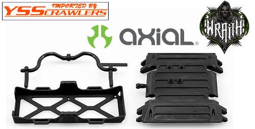 Axial チューブフレーム スキッドスプレート/バッテリートレイ for WRAITH [AX80079]