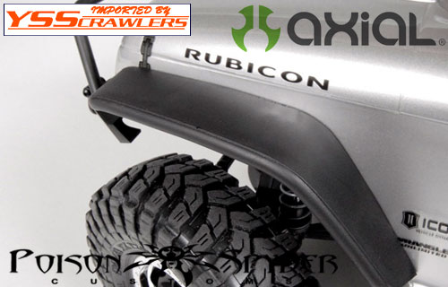 Axial SCX10 Poison Spyder JK Crusher Flares (Front)