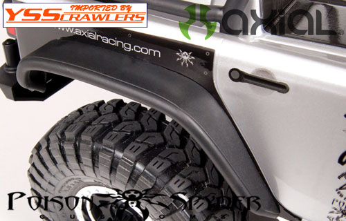 Axial SCX10 Poison Spyder JK Crusher Flares (Rear)