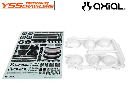 Axial ドライバー ヘルメットタイプ セット![ホワイト][AX80131]