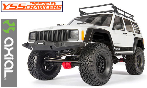 Axial SCX10-II 2000 Jeep Cherokee 1/10 スケール キット [AX90046][即納]