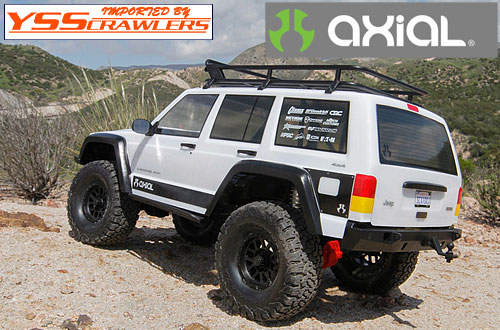 Axial Racing SCX10-II Jeep Cherokee 1/10th Scale Electric 4WD Kit
