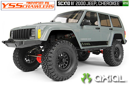 Axial Racing SCX10-II Jeep Cherokee 1/10th Scale Electric 4WD RTR