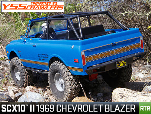 Axial  SCX10 II 1969 Chevrolet Blazer 1/10th Scale Electric 4WD - RTR