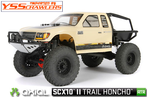 Axial SCX10-II トレール ホンチョ[RTR][AX90059][即納]