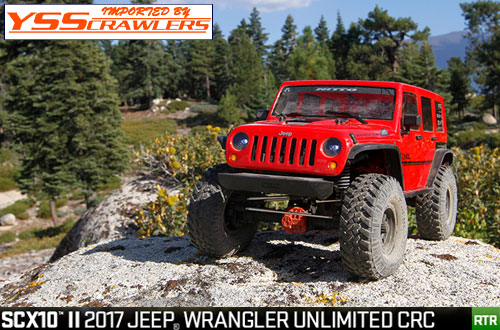 Axial SCX10-II 2017 Jeep ラングラー JK 4ドア CRC [RTR][AX90060]予約