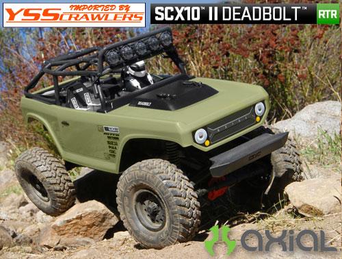 Axial SCX10-II デボルト 1/10 4WD RTR[AX90066]