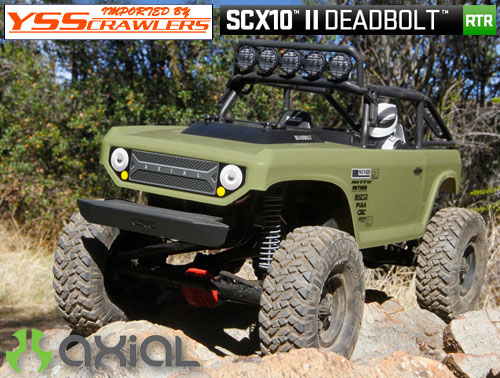 Axial SCX10-II デボルト 1/10 4WD RTR[AX90066][即納]