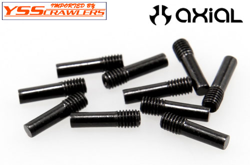 Axial Screw Shaft M3 X 2.5 X 11mm for Wraith,EXO [ブラック][10本]