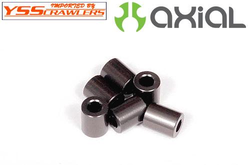Axial 7.5x6mm スペーサ Gray (6pcs) [AXA1327]