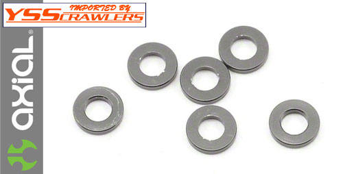 Axial 1x6mm Spacer (Grey)