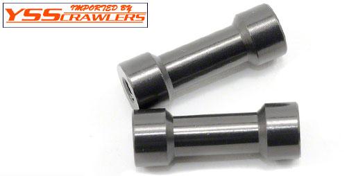 Axial 7x20mm ポスト Gray (2pcs) [AXA1421]