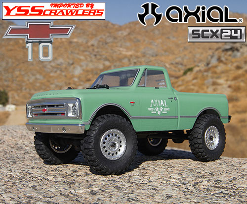 Axial 1/24 1967 シボレー C10 RTR![ライトグリーン][SCX24][4WD]