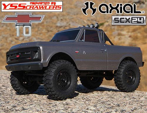 Axial 1/24 1967 シボレー C10 RTR![シルバー][SCX24][4WD]