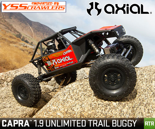Axial Racing 1/10 CAPRA[カプラ] 1.9 アンリミテッドトレールバギー![RTR][赤]