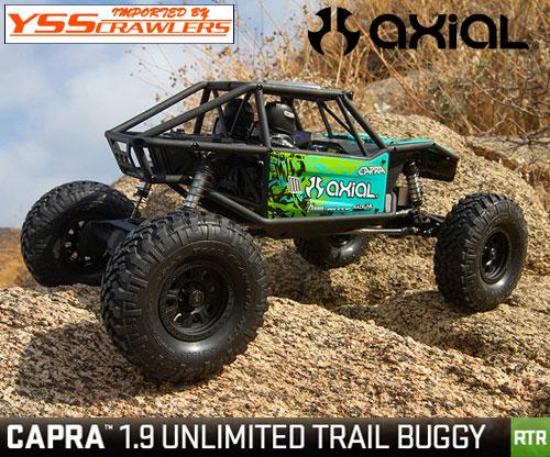 Axial Racing 1/10 CAPRA[カプラ] 1.9 アンリミテッドトレールバギー![RTR][緑]