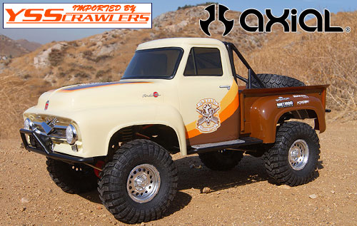 Axial SCX10 II 1955 Ford 1/10th 4wd RTR (Brown)