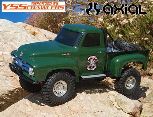 Axial SCX10-II 1955 フォード ピックアップトラック![RTR][グリーン][予約]