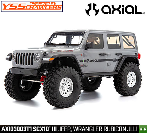 Axial SCX10 III ジープ JL アンリミテッド ルビコンRTR![グレー]