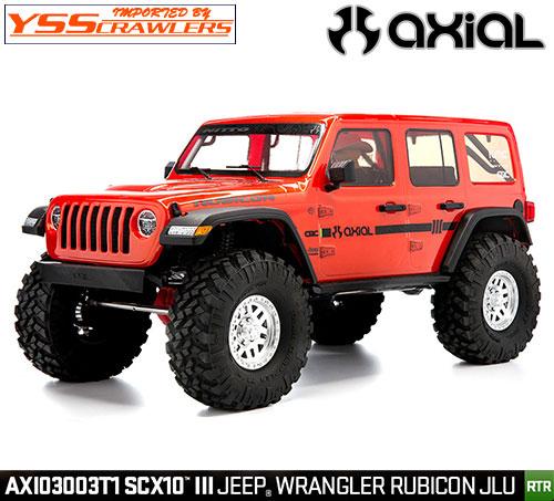Axial SCX10 III ジープ JL アンリミテッド ルビコンRTR![オレンジ]