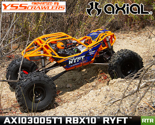 Axial RBX10 Ryft[リフト] ロックバウンサー RTR![オレンジ][AXI03005T1]