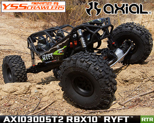 Axial RBX10 Ryft[リフト] ロックバウンサー RTR![ブラック][AXI03005T2]