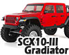 Axial SCX10 III ジープ グラディエーター JT RTR![レッド]