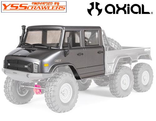 Axial UMG10 6x6 ダブルキャブ4ドア ボディー![クリアー][AXI230003]