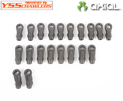 Axial HD Rod Ends M4 (20pcs)