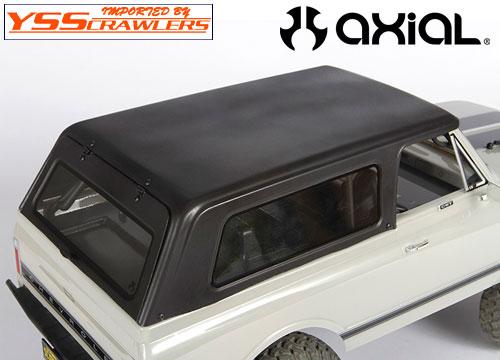 Axial  1969 シボレー K5 ブレーザー ルーフ[ハードトップ]![クリアー]