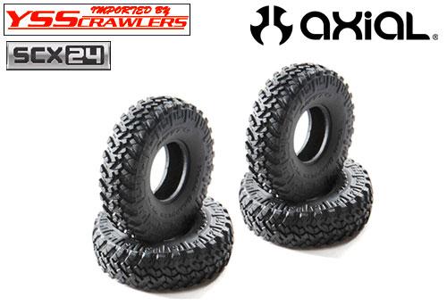 Axial 1インチ ニットー トレールグラップラー M/T タイヤ For Axial SCX24シリーズ!
