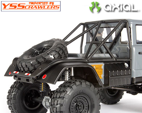 Axial UMG10 リアベッドセット![クリアー][AXI31640]