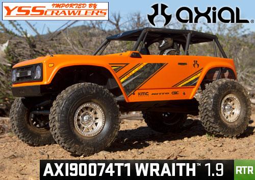 Axial Racing 1/10 Wraith[レイス] 1.9 RTR![オレンジ]