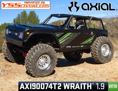 Axial Racing 1/10 Wraith[レイス] 1.9 RTR![ブラック]