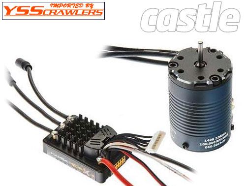 Castle Creations マンバ マイクロ X ESC + 2280KV センサー付きブラシレスモーター!クローラーエディション!
